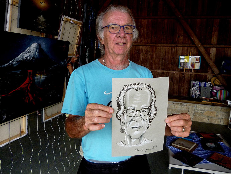 Claude caricature de JEF