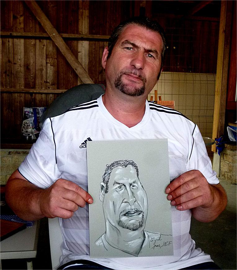 Cyril, caricature de JEF
