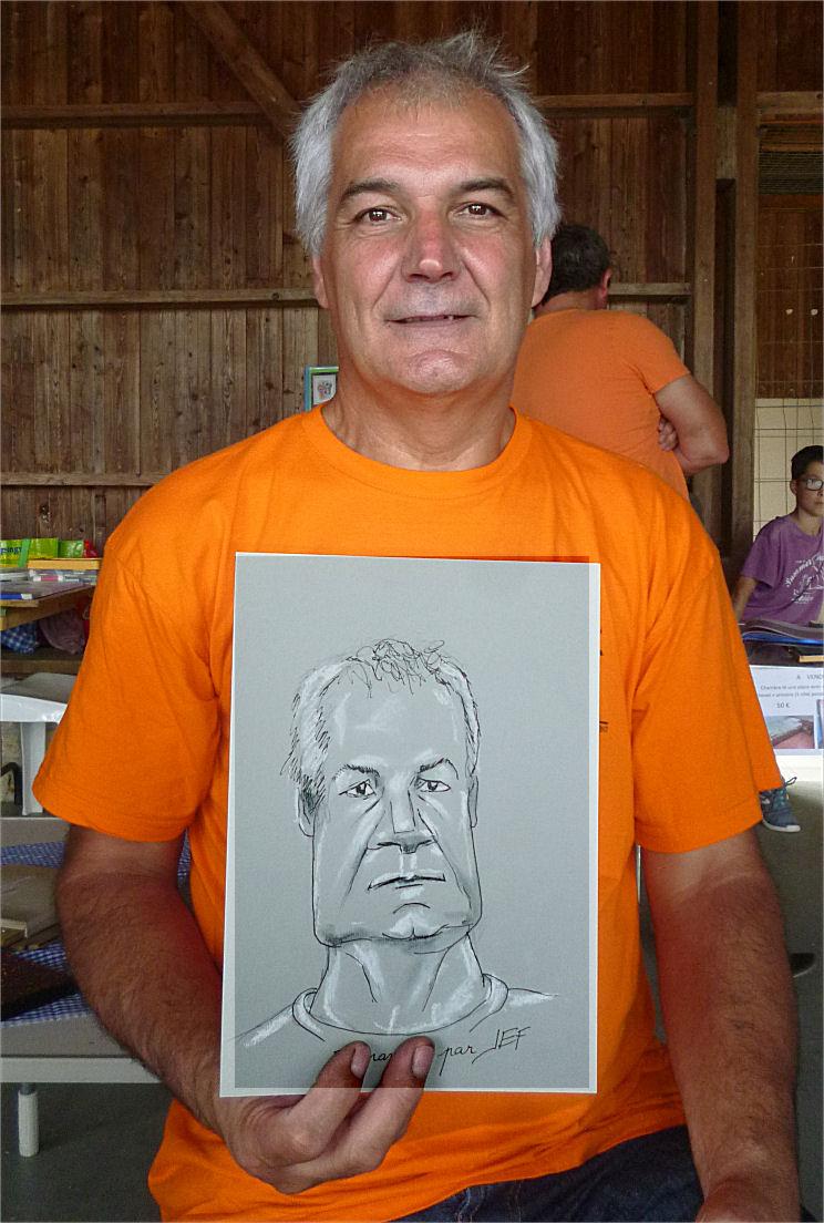 Gérard caricature par Jef