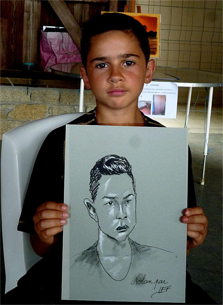 Nolan, caricature par Jef
