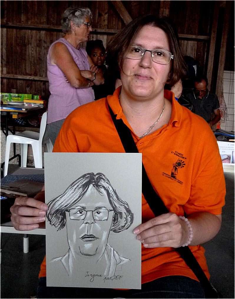 Virginie caricature de JEF