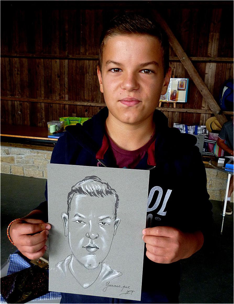 Yannis caricature de JEF