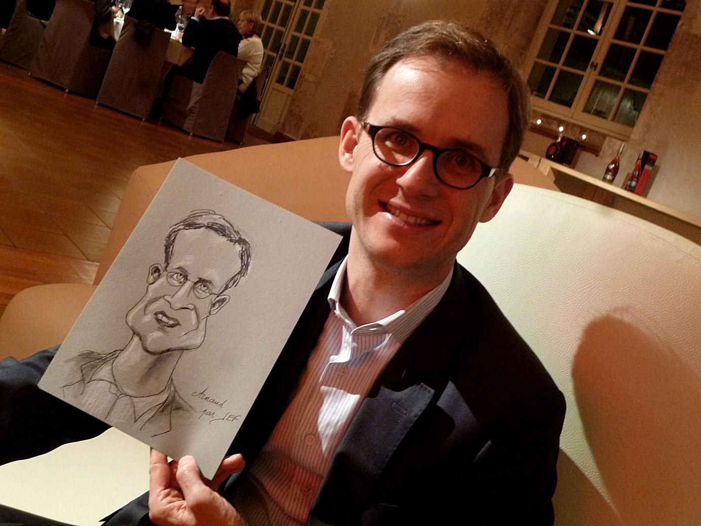 Arnaud caricature Jef