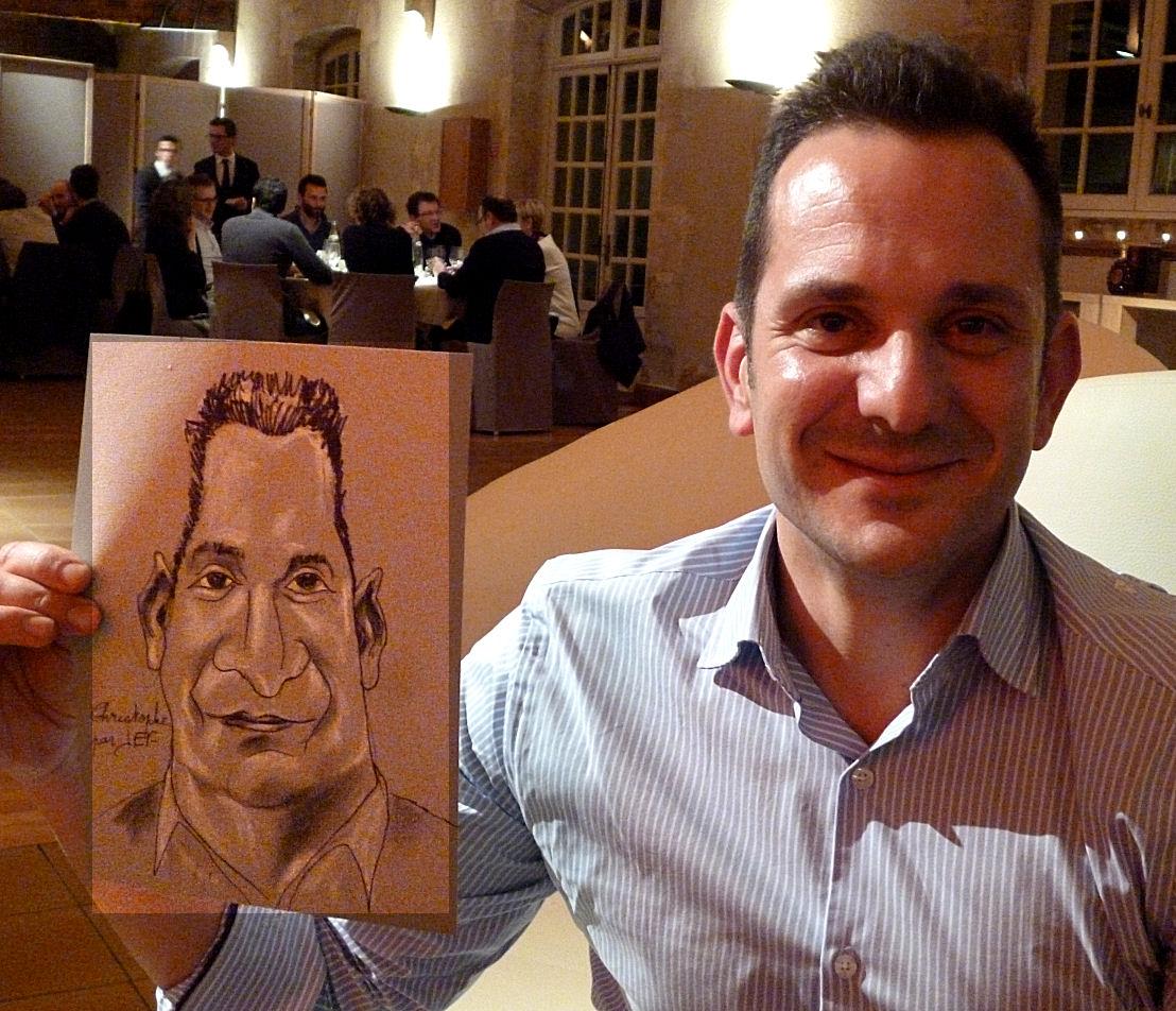 Christophe caricature JEF