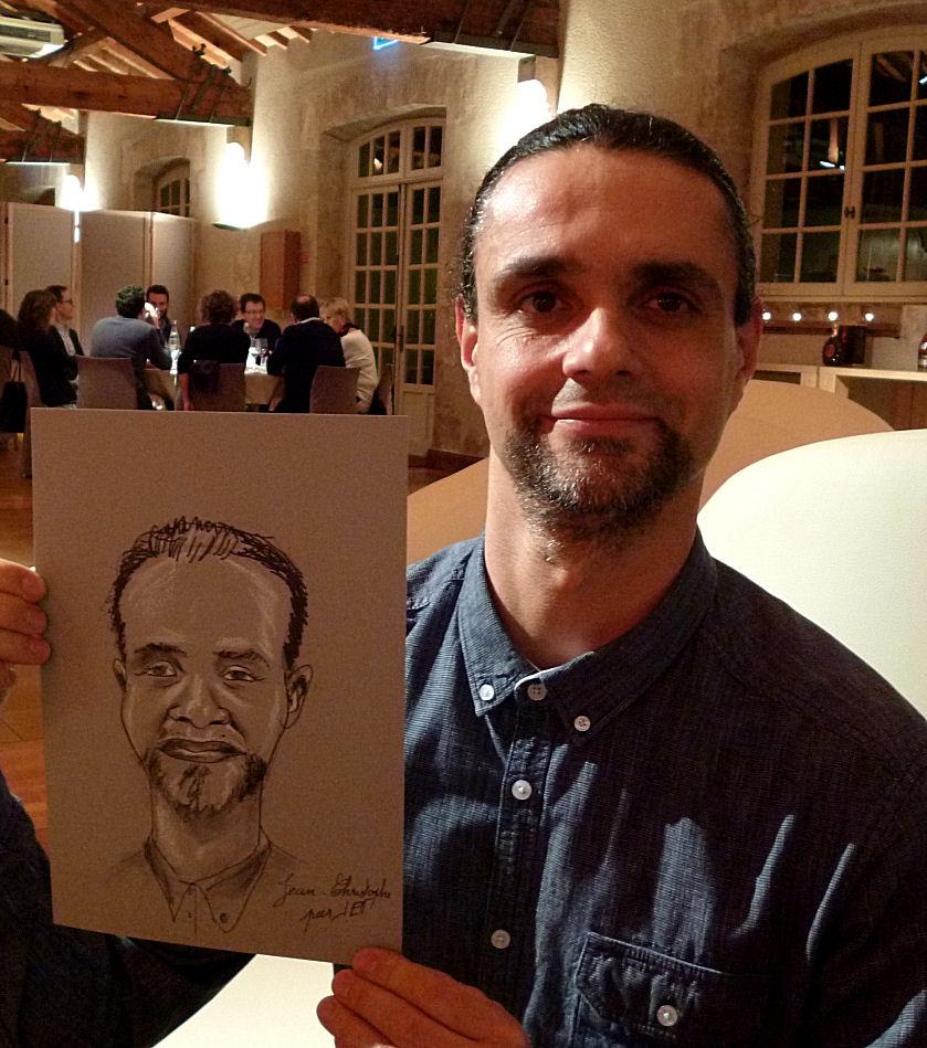 Jean-Christophe caricature de JEF