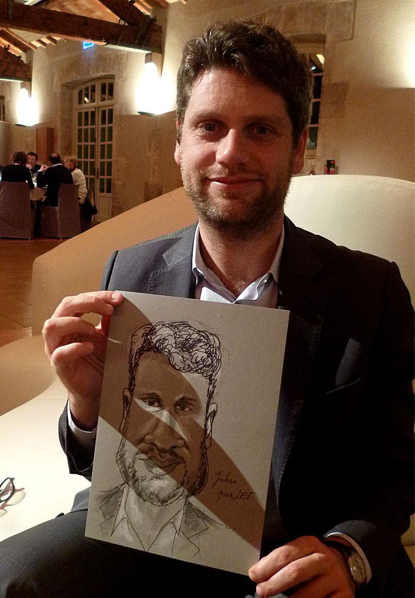 Julien caricature de JEF