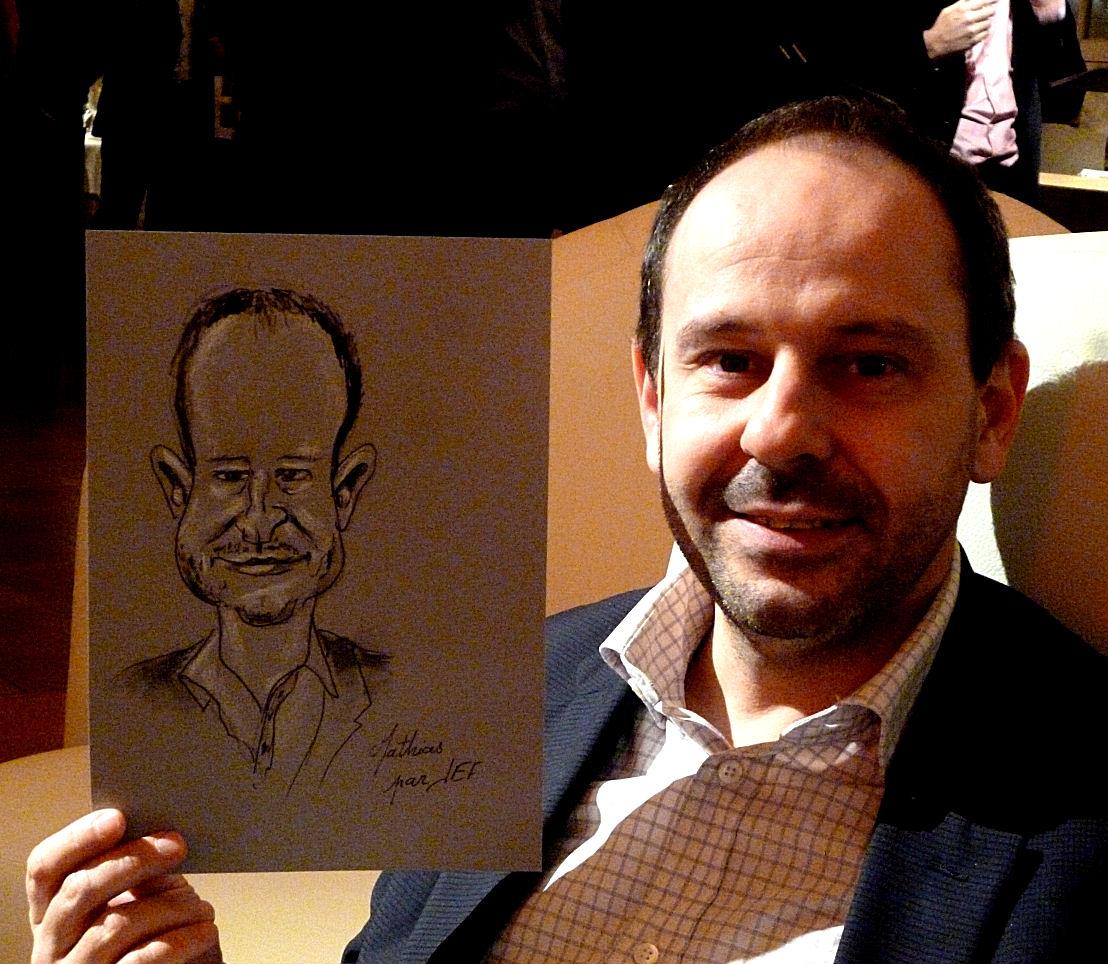 Mathias caricature de JEF