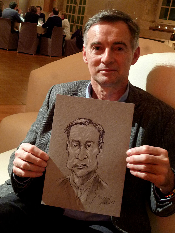 Pascal caricature de JEF
