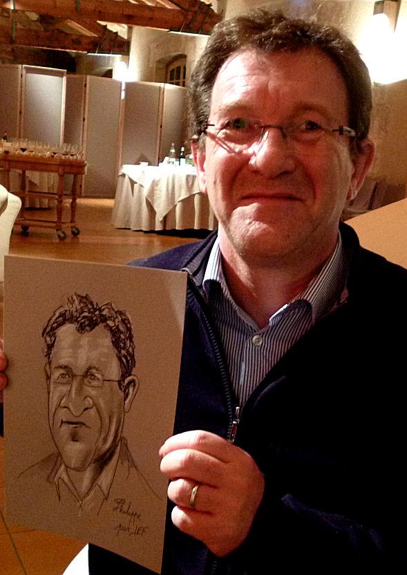 Philippe caricature de JEF