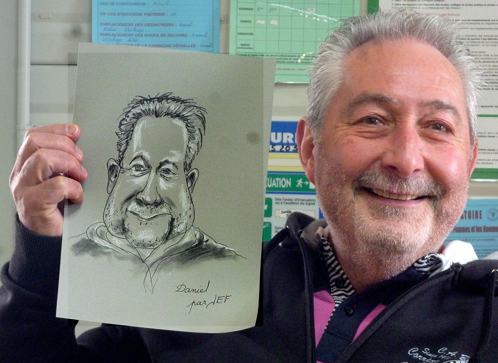 Daniel caricature par jef