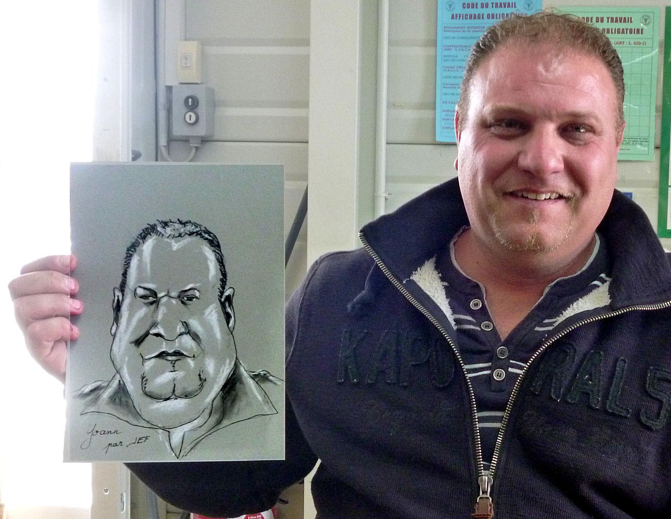 Yoann caricature par JEF