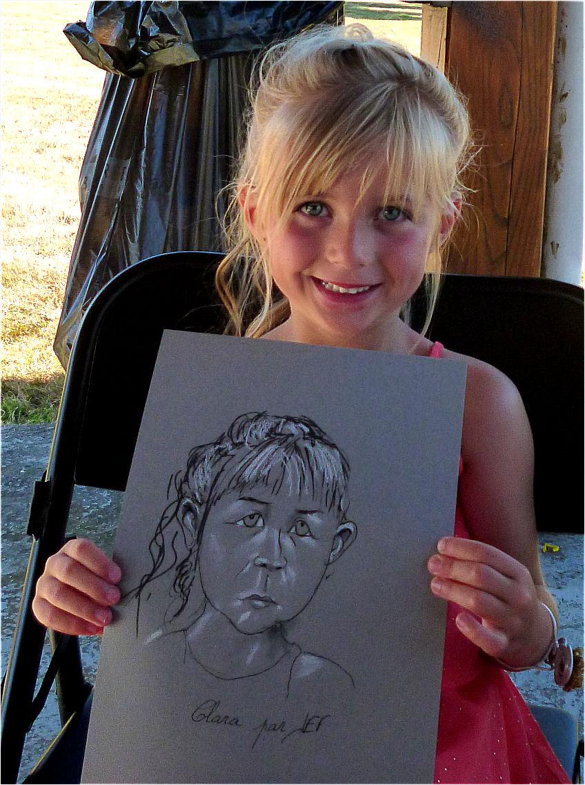 Clara caricature de JEF