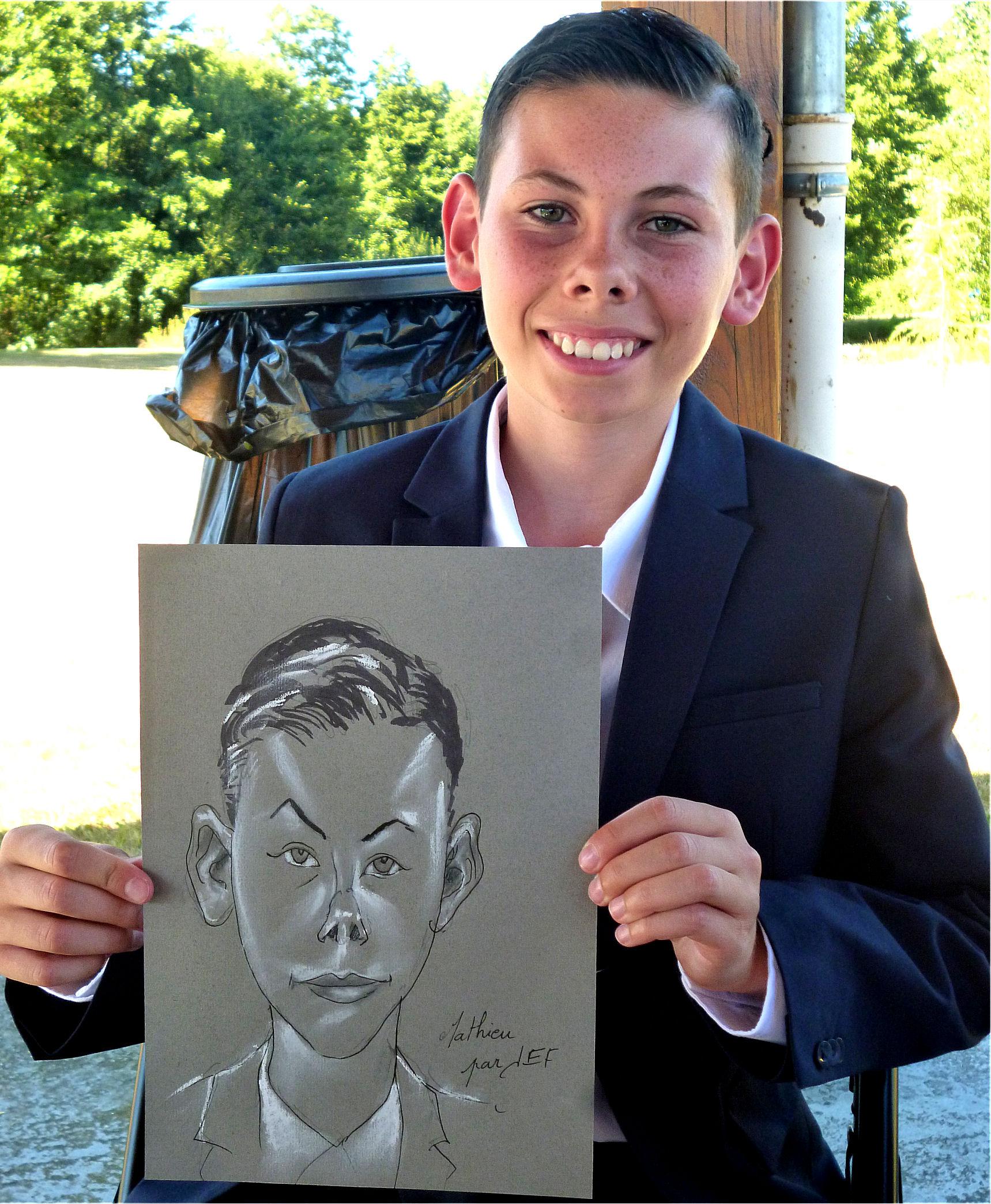 Mathieu caricature de Jef
