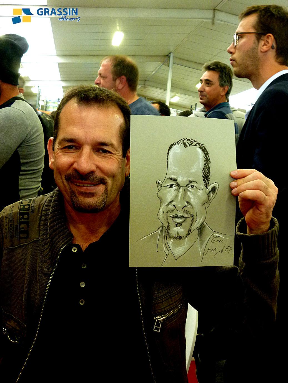 Eric - caricature par JEF