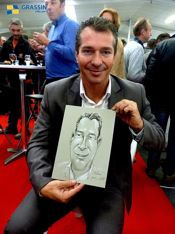 Fabien - Caricature par JEF
