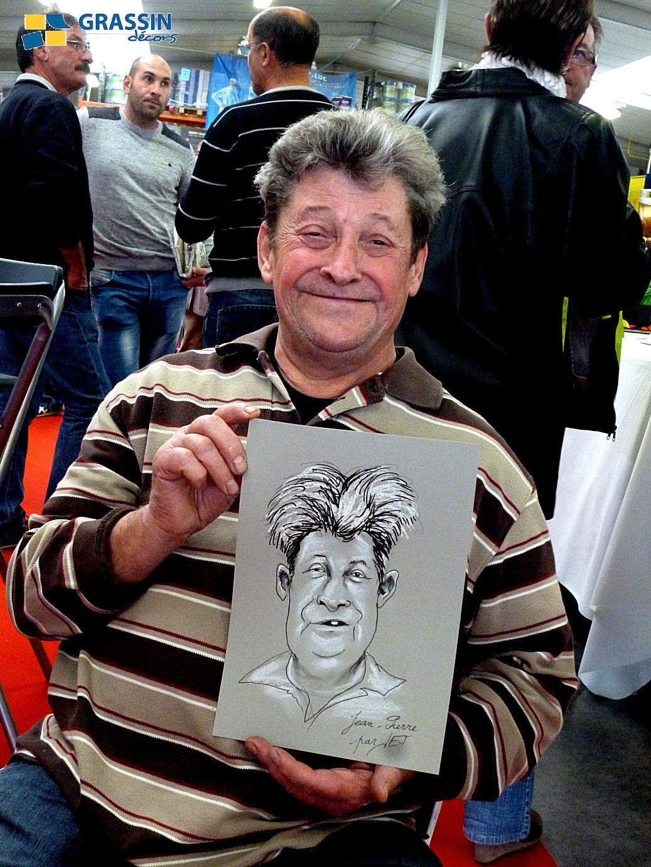 Jean-Pierre - Caricature par JEF