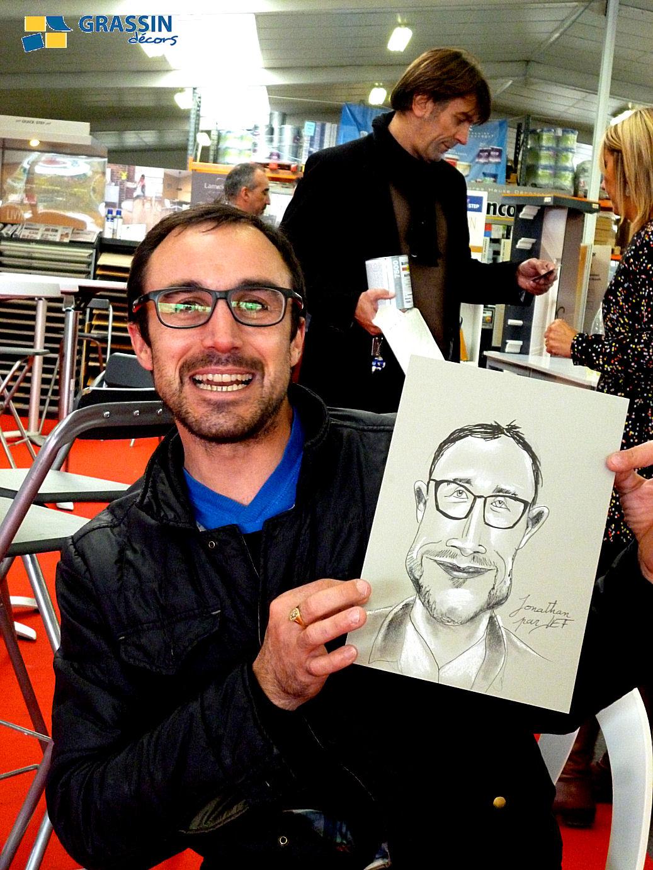 Jonathan - Caricature par JEF