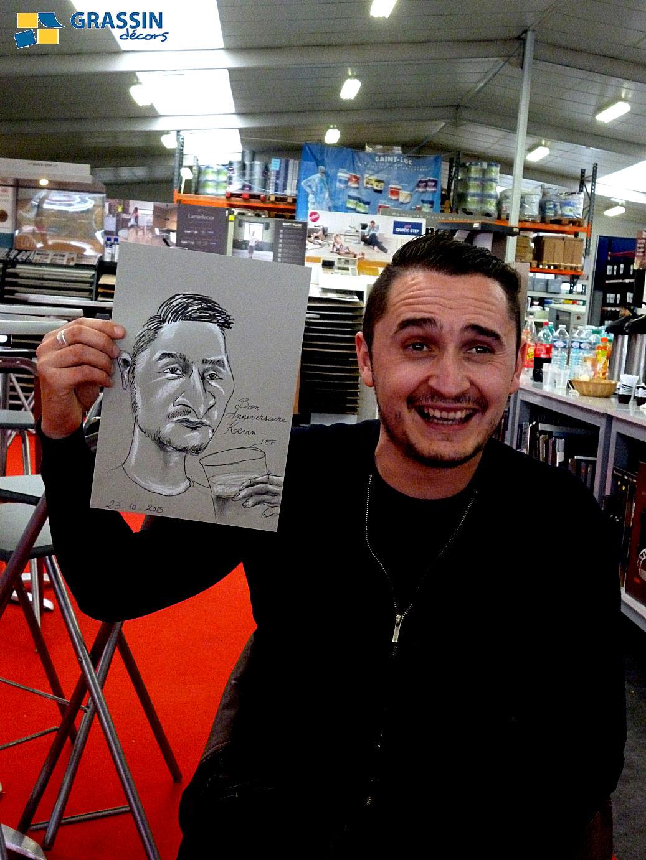 Kévin - caricature par JEF