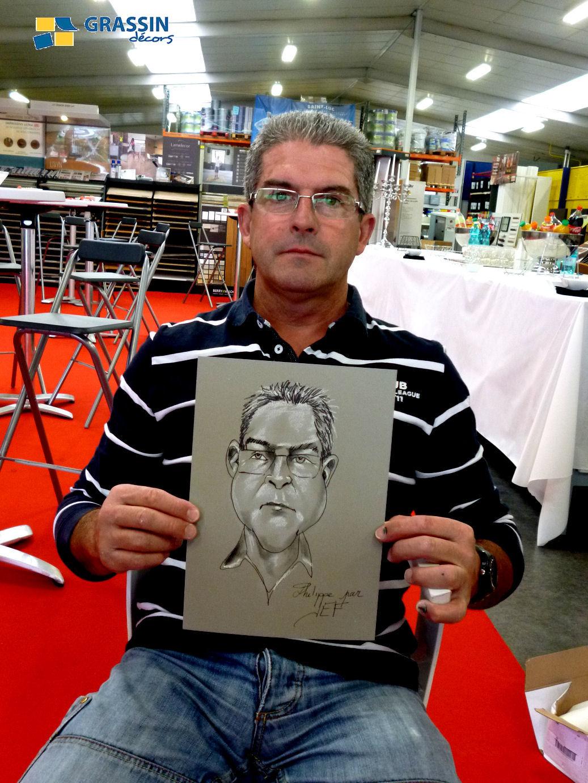 Philippe - caricature par JEF