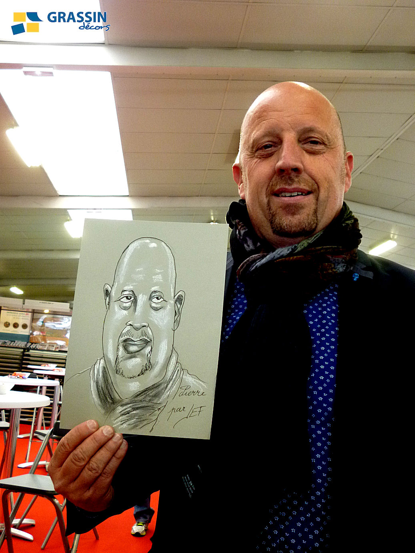 Pierre - Caricature par JEF