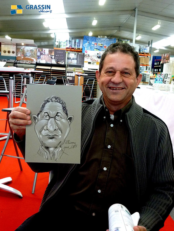Thierry - Caricature par JEF