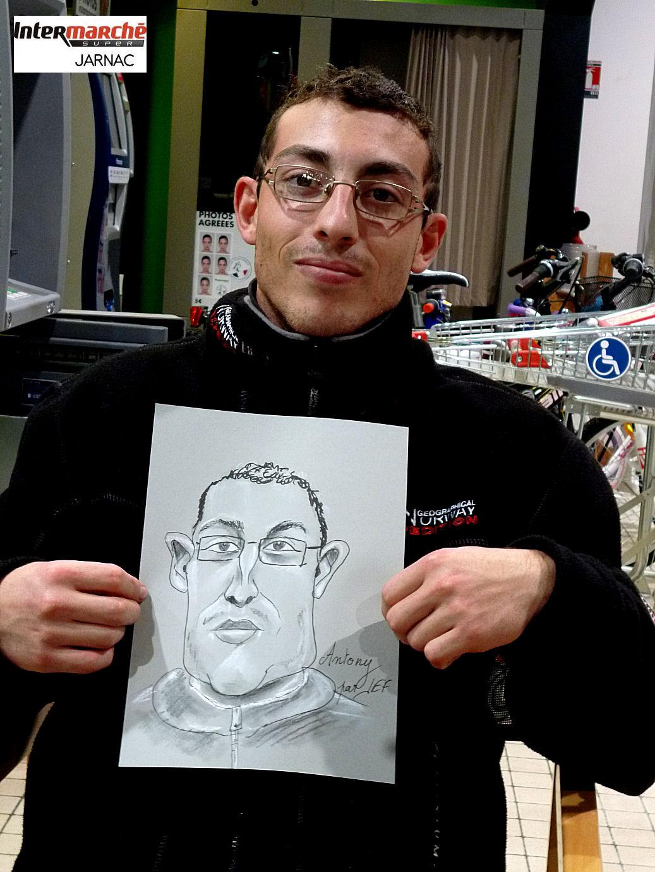 Antony caricature par JEF