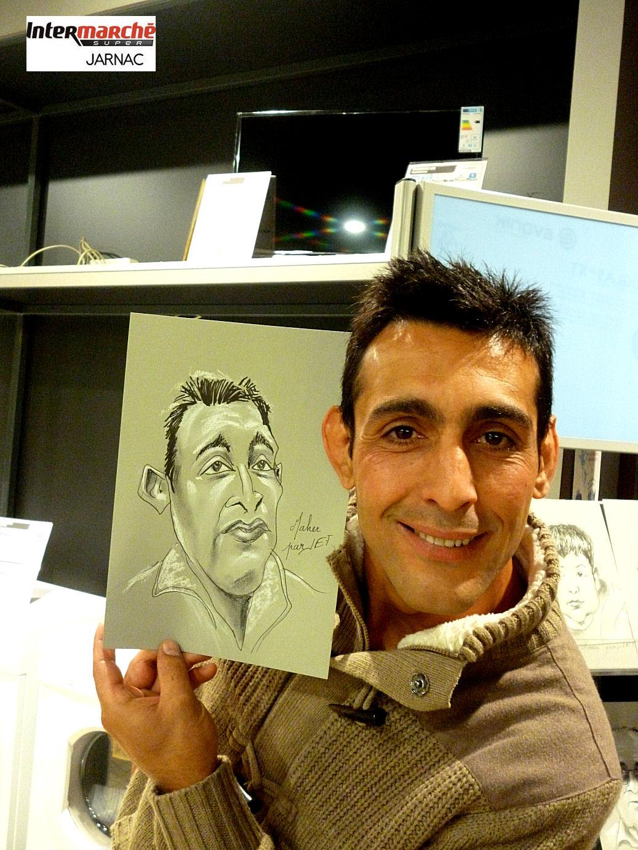 Maher caricaturé par JEF