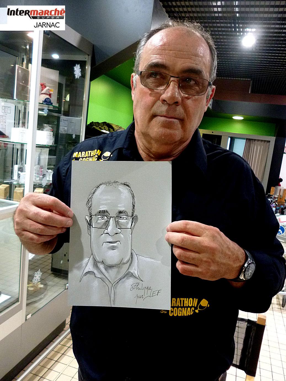 Philippe caricaturé par JEF