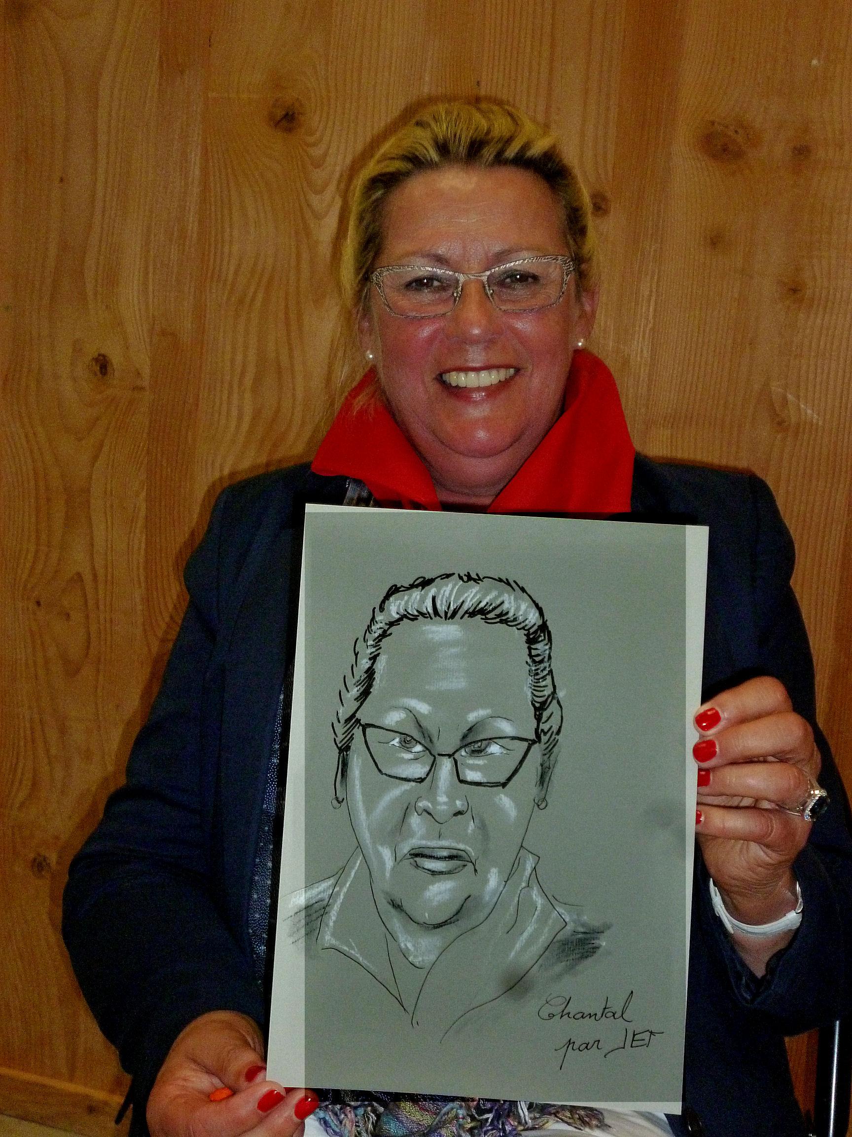 Chantal caricature de JEF