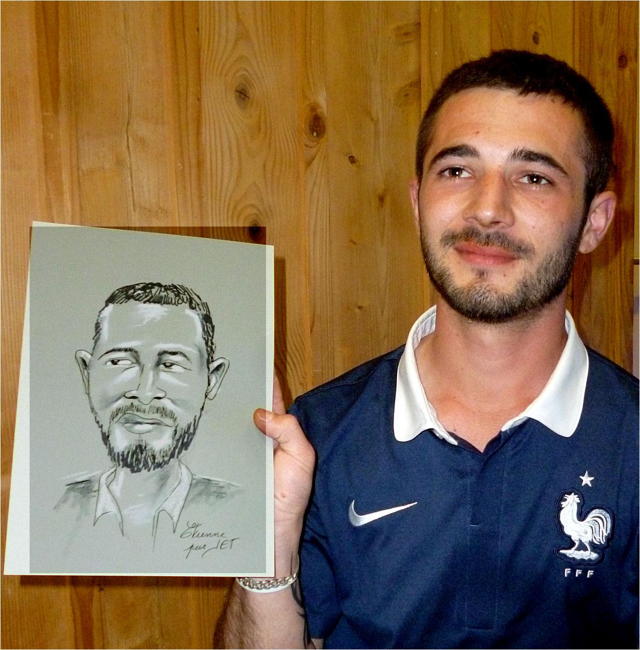 Etienne caricature de JEF