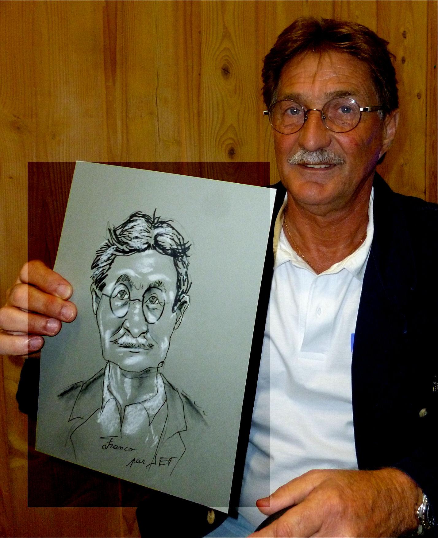 Franco caricature de JEF