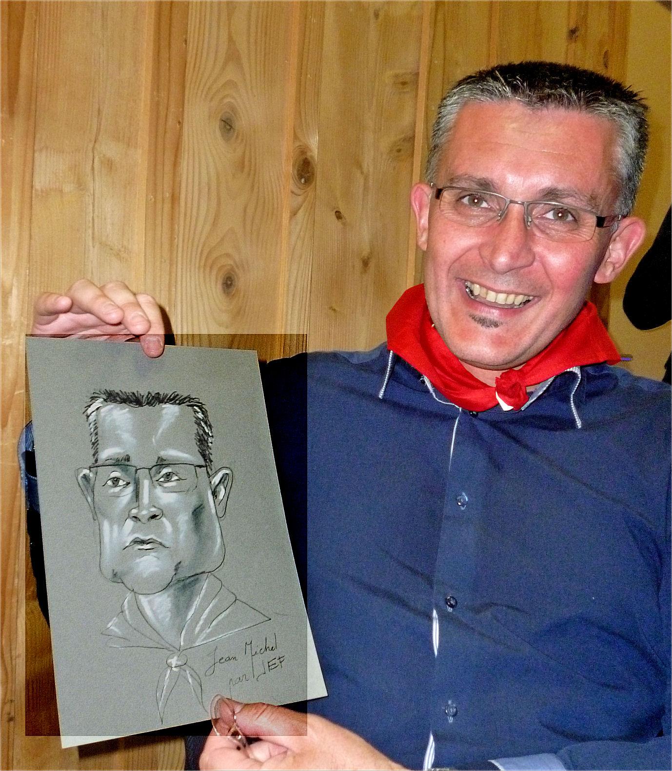 Jean-Michel caricature de JEF