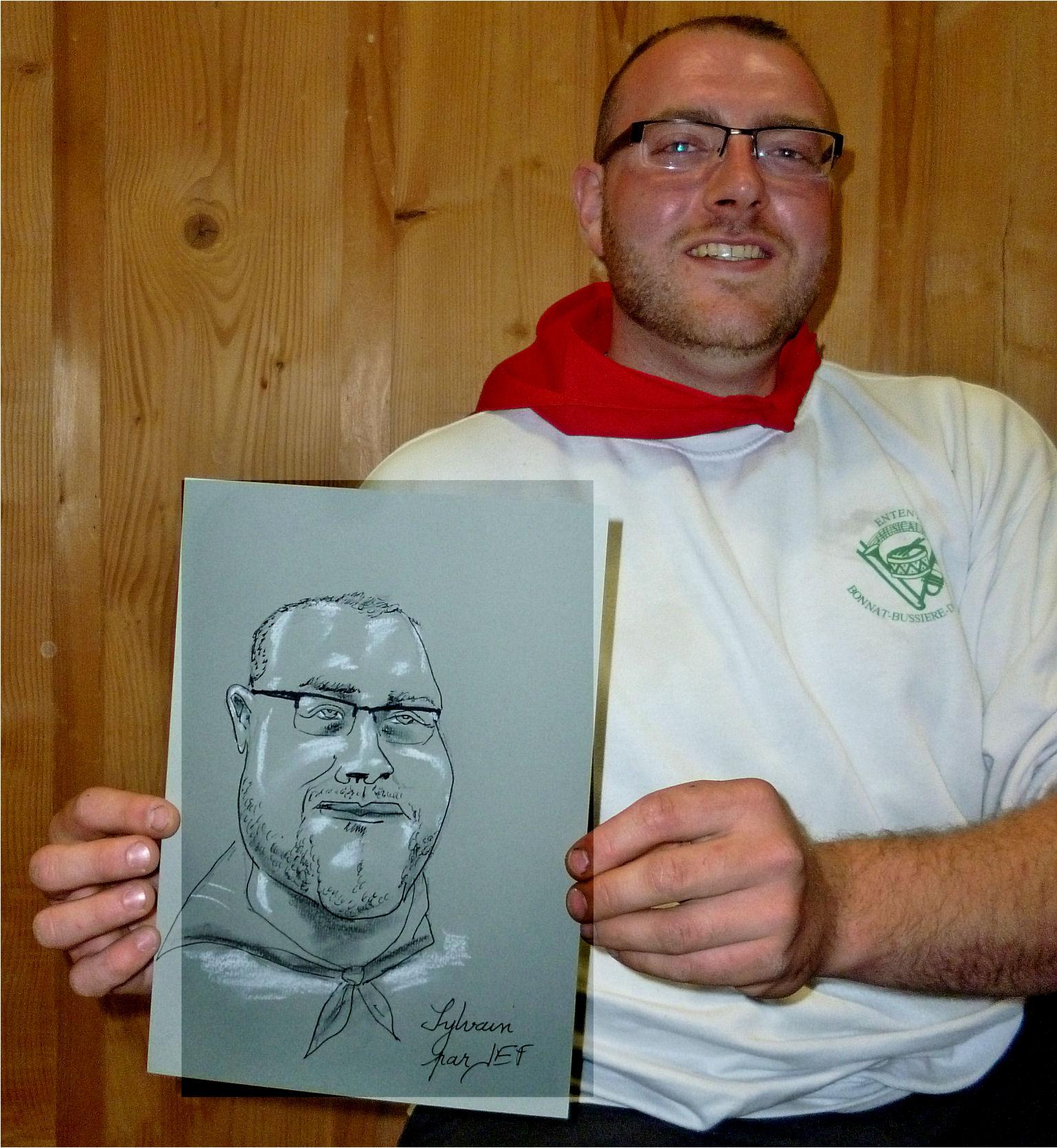 Sylvain caricature de JEF