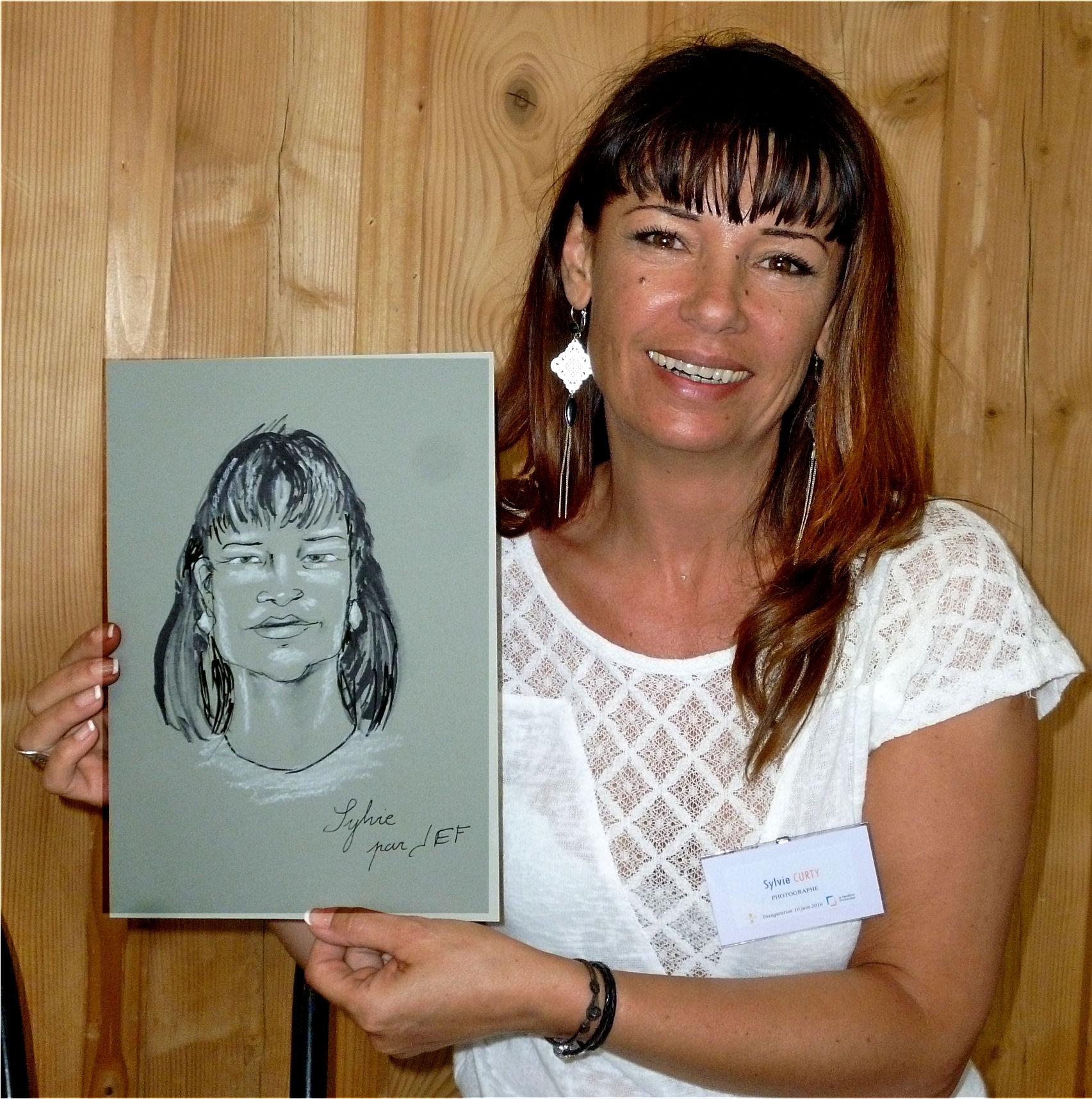 Sylvie Curty caricature de JEF