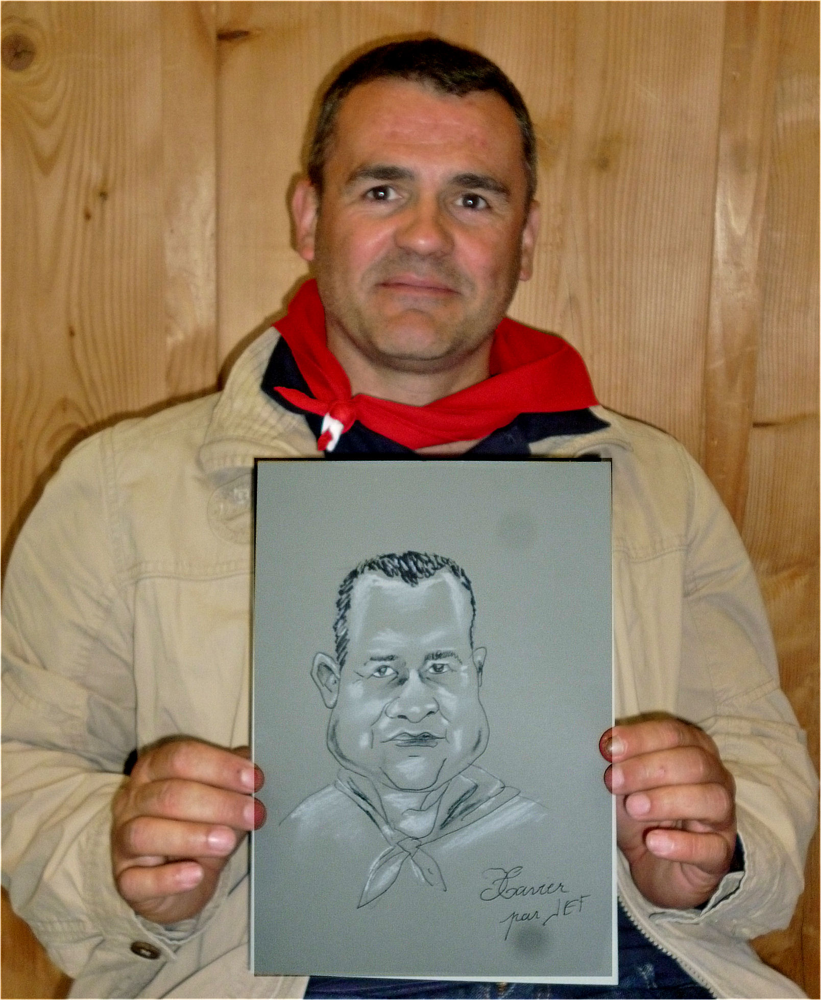 Xavier caricature de JEF