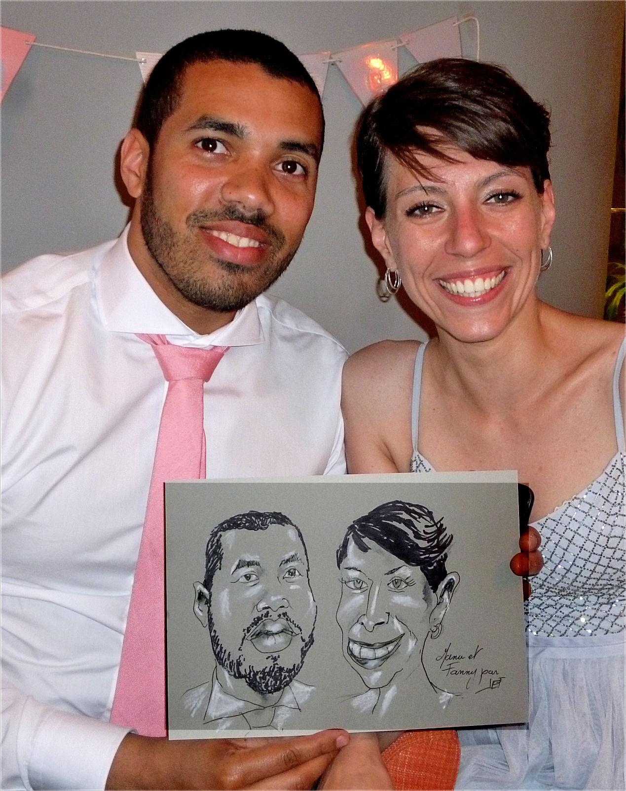 Manu et Fanny caricature de JEF