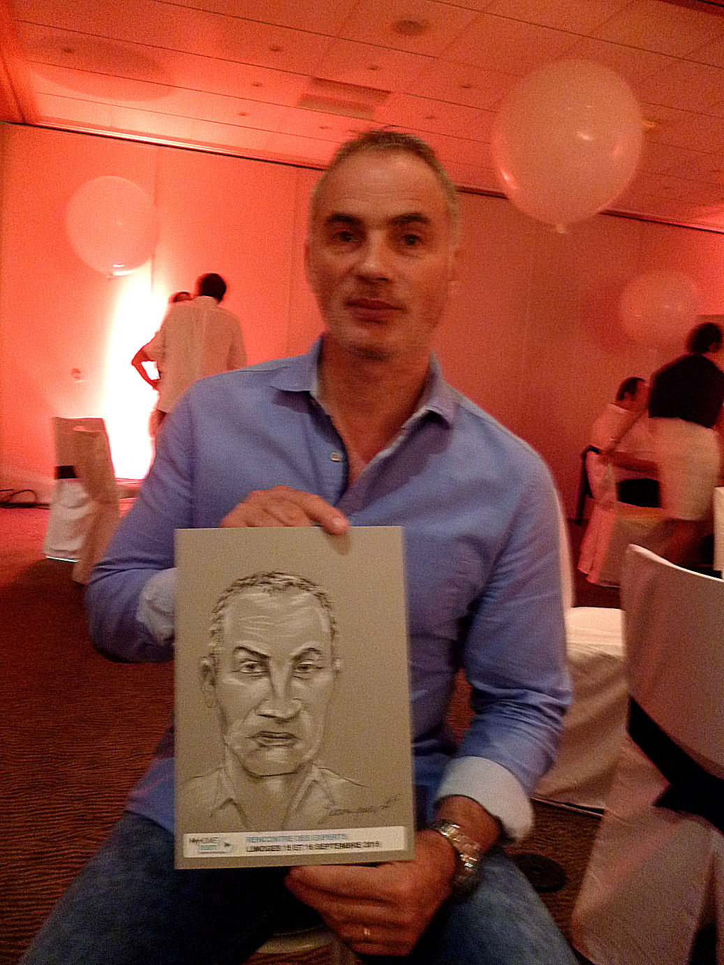 Jean-Paul caricature par JEF