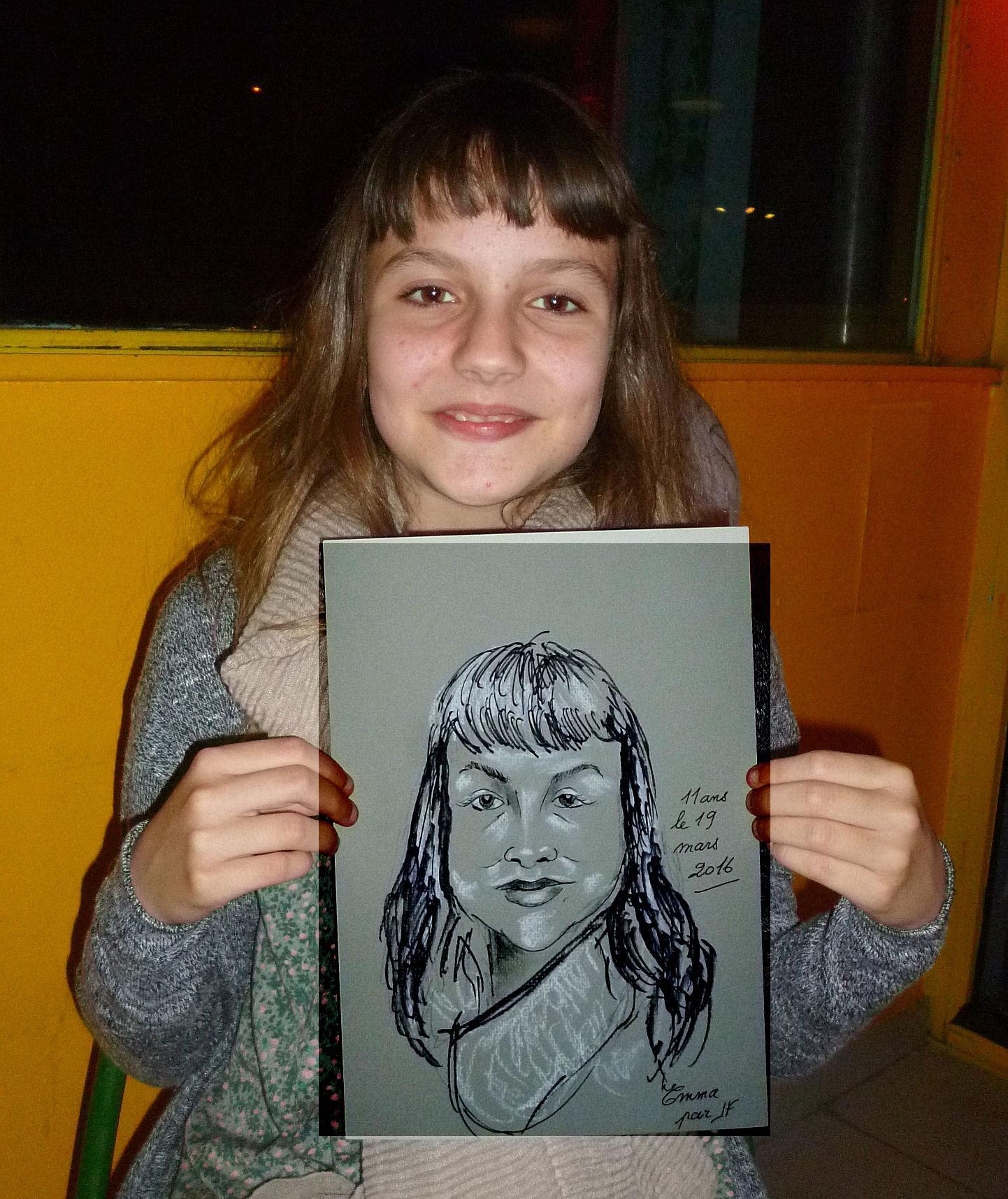Emma caricature de JEF