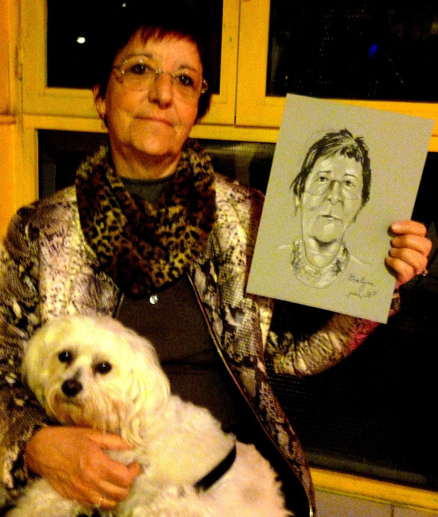 Evelyne caricature de JEF