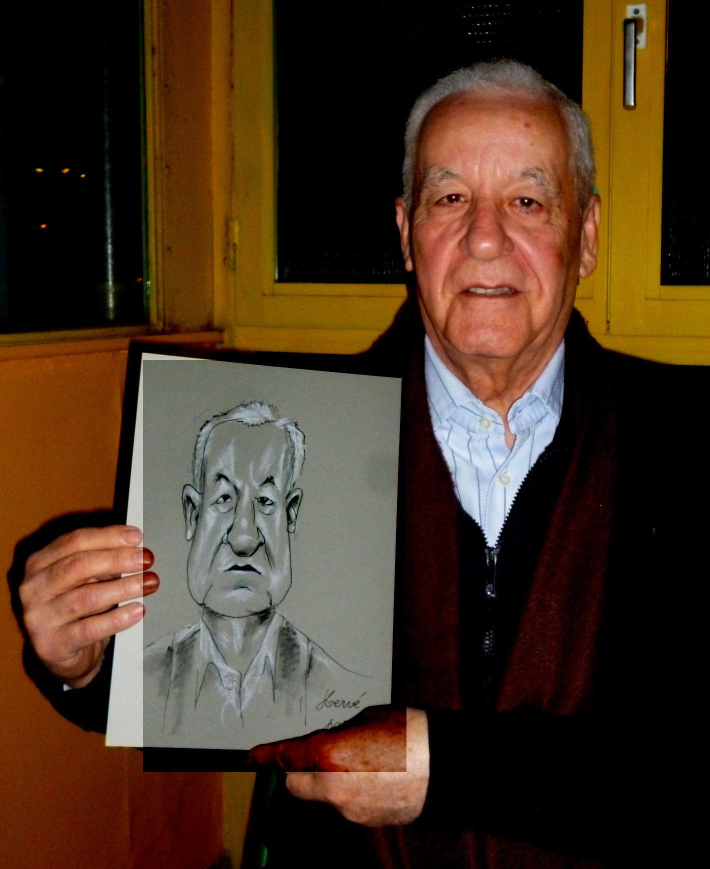 Hervé caricature de JEF