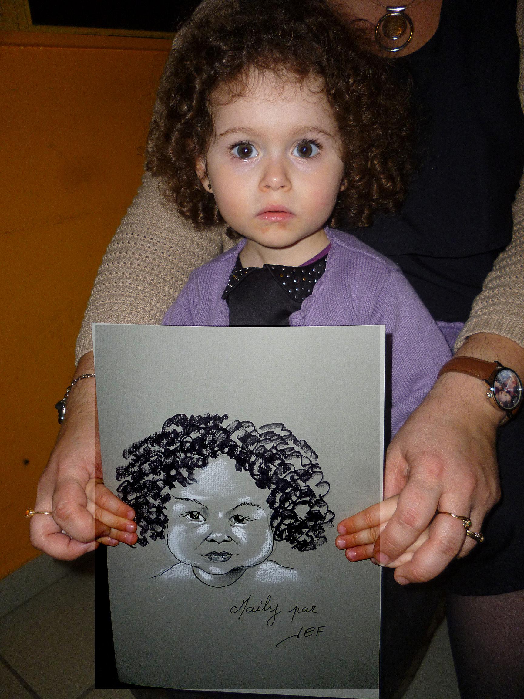 Maïly caricature de JEF
