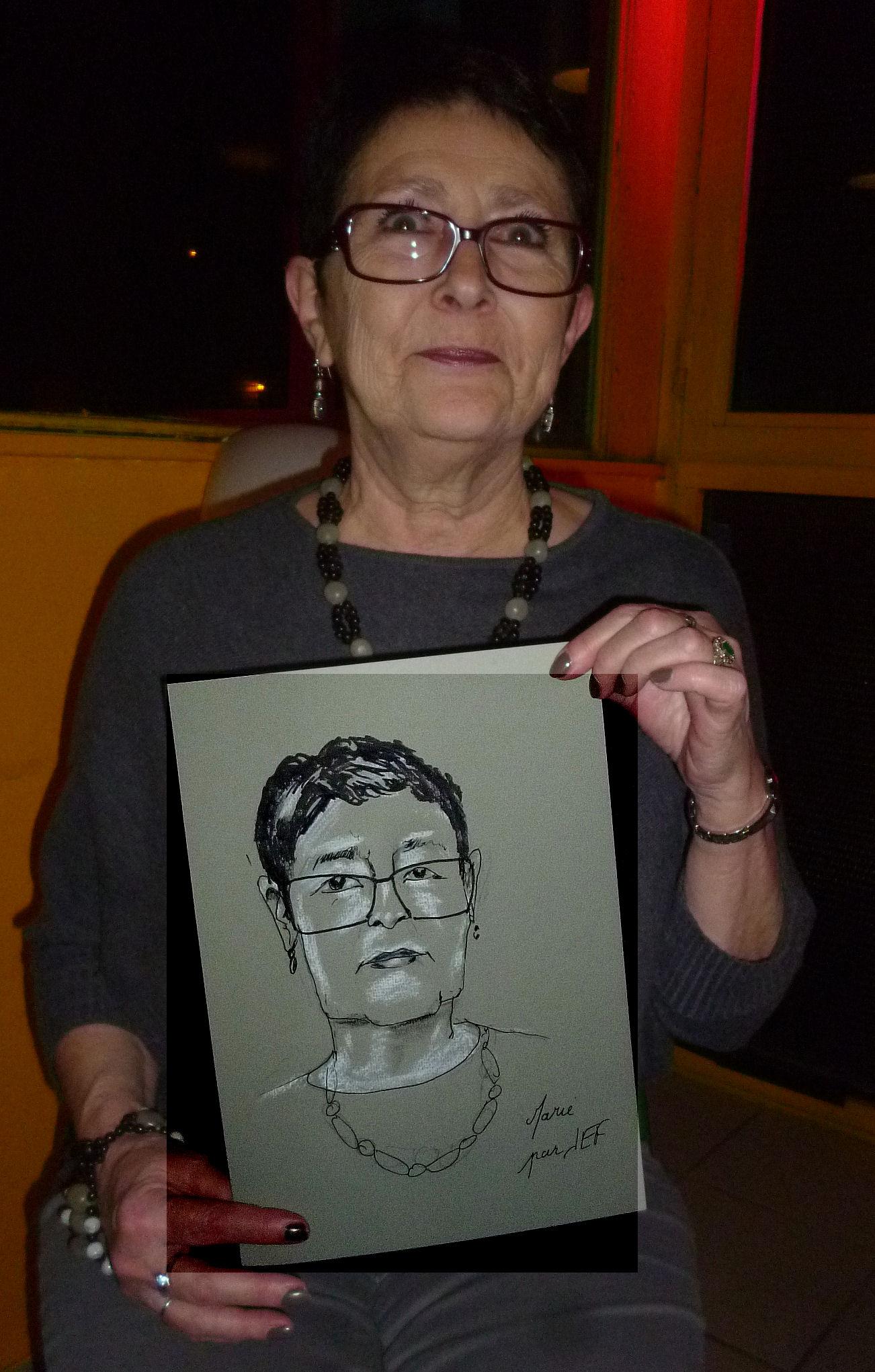Marie caricature de JEF