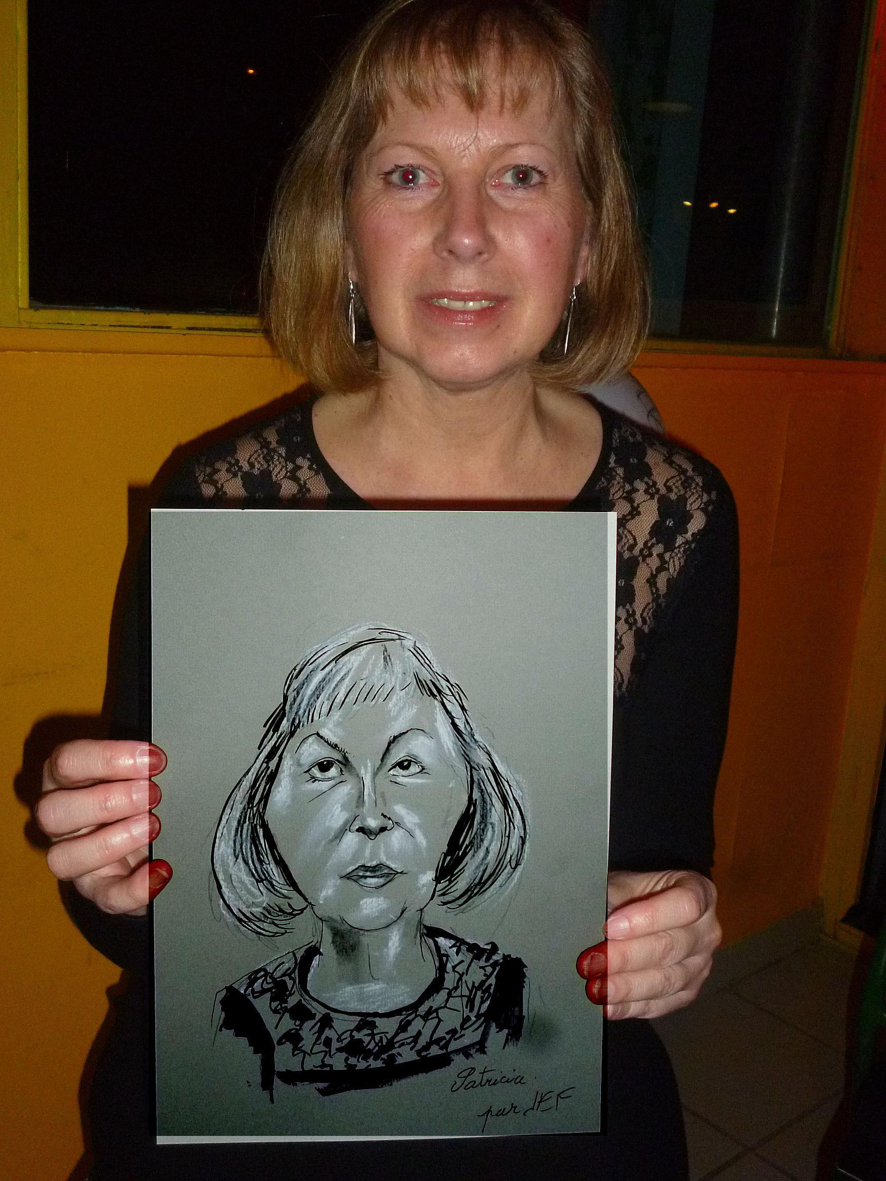 Patricia caricature de JEF